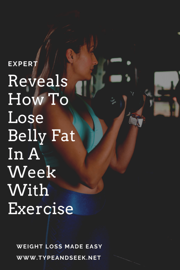 Expert Reveals How To Lose Belly Fat In A Week With Exercise
